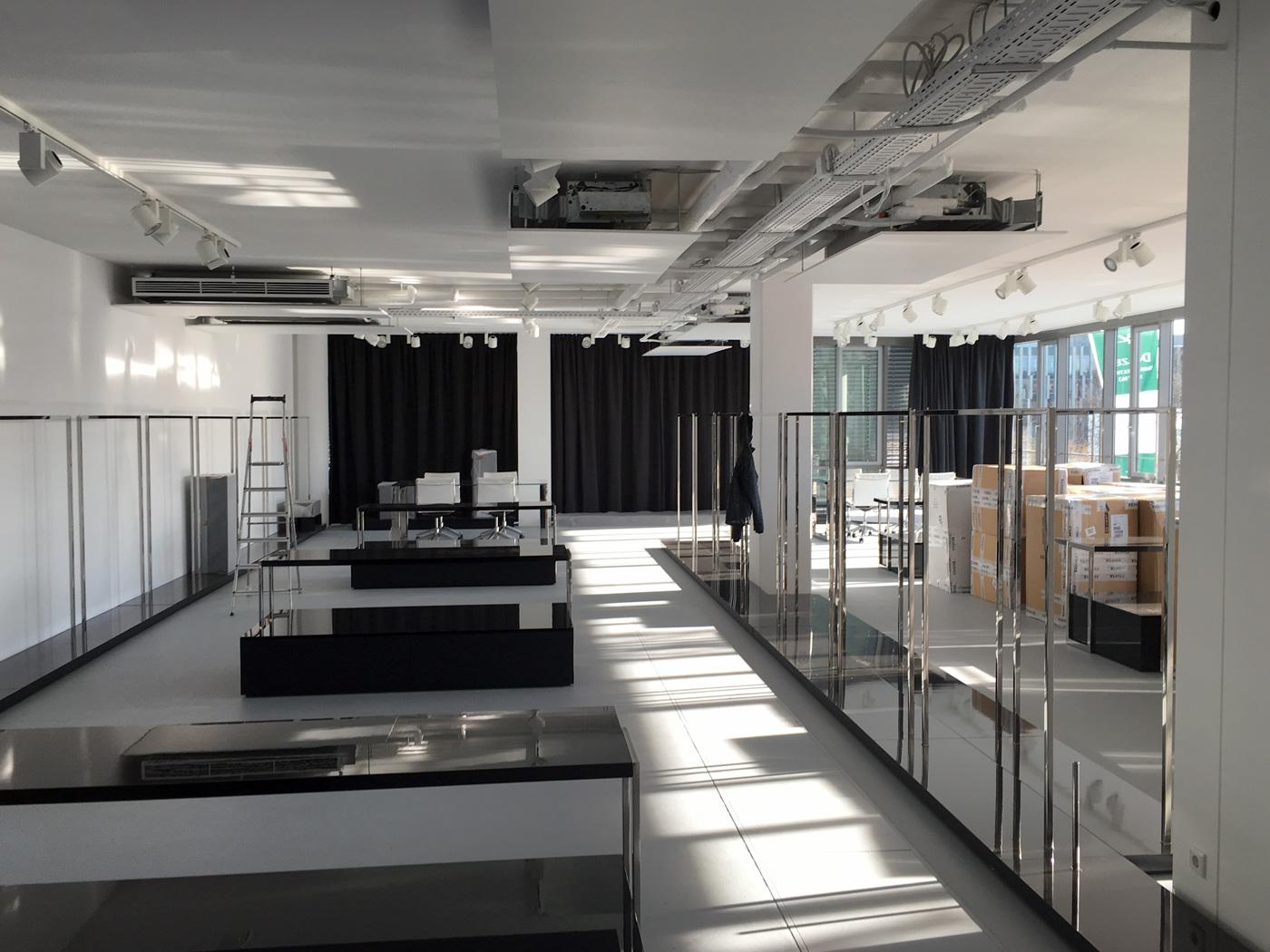 Umbau Showroom München